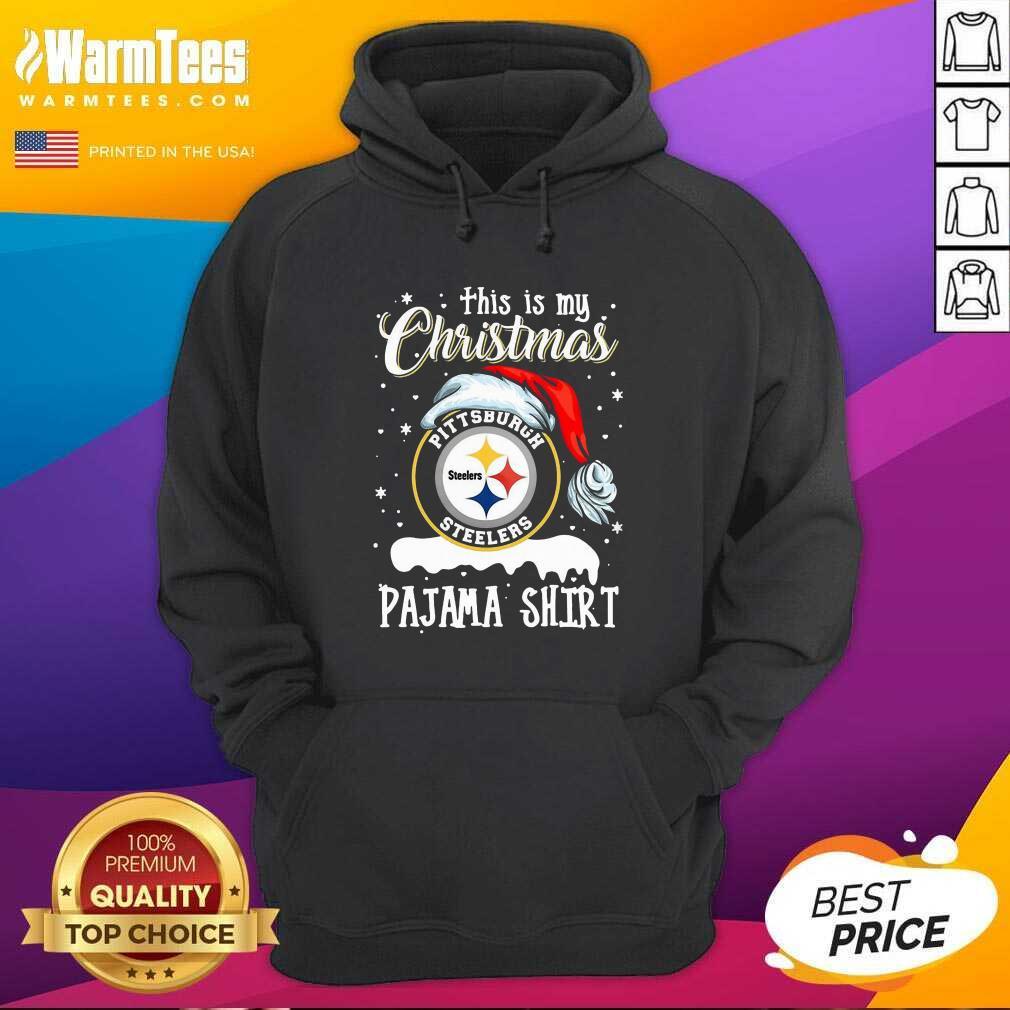 This Is My Christmas Pittsburgh Steelers Pajama Hoodie - Design By Warmtees.com