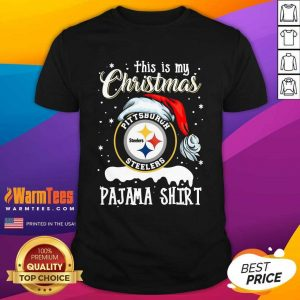 This Is My Christmas Pittsburgh Steelers Pajama Shirt - Design By Warmtees.com