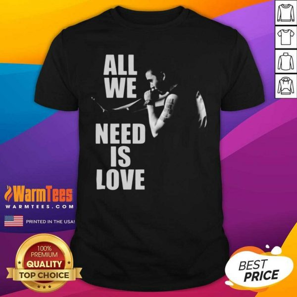 Canserbero All We Need Is Love Shirt - Design By Warmtees.com