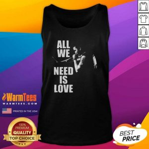 Canserbero All We Need Is Love Tank Top - Design By Warmtees.com