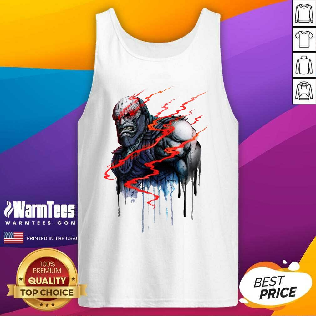 Darkseid All Existence Shall Be Mine Zack Snyder Tank Top  - Design By Warmtees.com