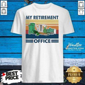 My Retirement Office Vintage Shirt - Design By Warmtees.com