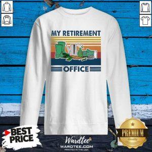 My Retirement Office Vintage SweatShirt - Design By Warmtees.com