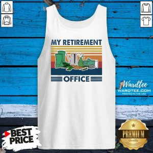 My Retirement Office Vintage Tank Top - Design By Warmtees.com