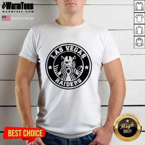 Starbuck Las Vegas Raiders Shirt - Design By Warmtees.com
