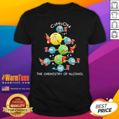 The Chemistry Of Alcohol Christmas Shirt - Design By Warmtees.com