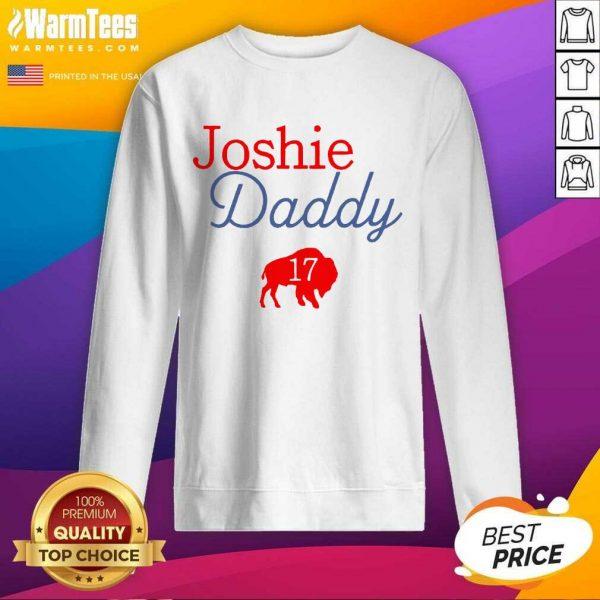 17 Allen Joshie Daddy Buffalo Bills 2021 SweatShirt