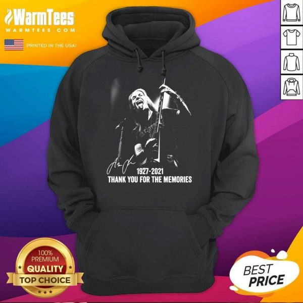 Alexi Laiho 1927 2021 Thank You For The Memories Signature Hoodie