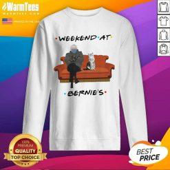 Bernie Sanders Mittens And Cat Weekend At Bernie's 2021 SweatShirt