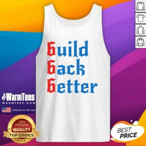 Build Back Better 666 Anti Globalist Tank Top - Design By Warmtees.com