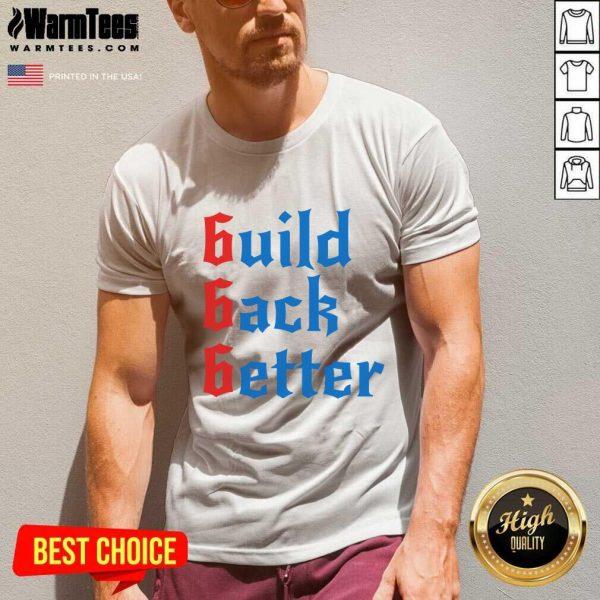 Build Back Better 666 Anti Globalist V-neck - Design By Warmtees.com