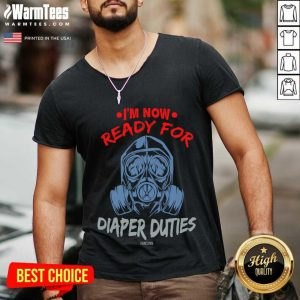 Change Diapers Dad Father'S Day Gift V-neck