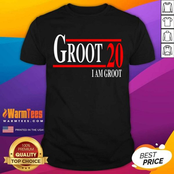 Groot 20 I Am Groot 2020 Shirt