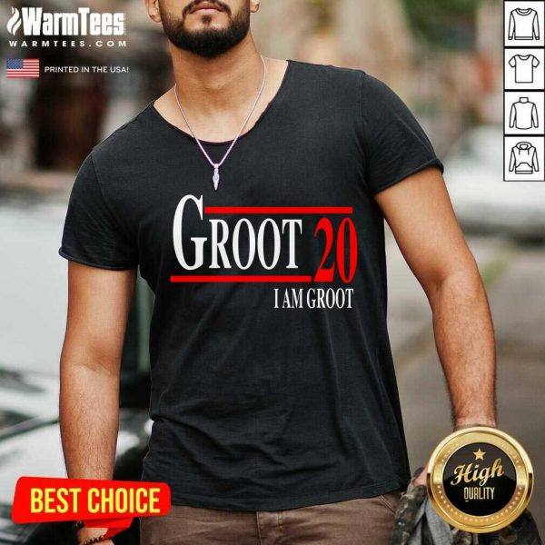 Groot 20 I Am Groot 2020 V-neck