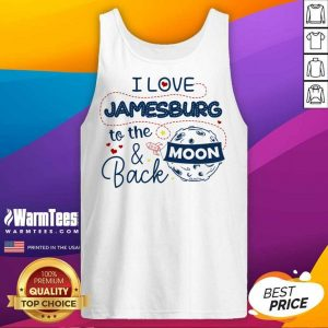 I Love Jamesburg To The Moon And Back Tank Top