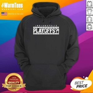 Indianapolis Colts Playoffs Hoodie - Design By Warmtees.com