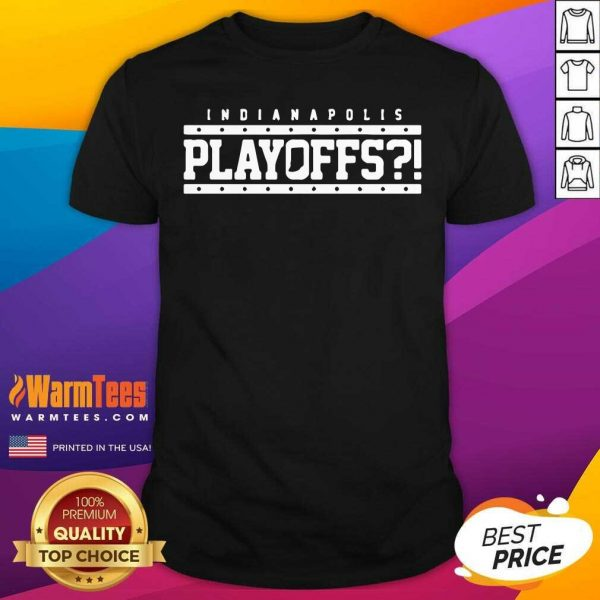 Indianapolis Colts Playoffs Shirt - Design By Warmtees.com