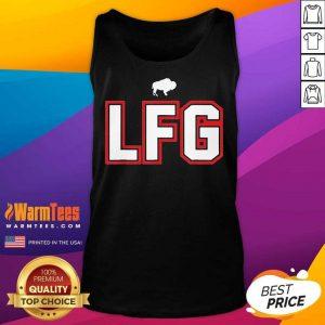 LFG – Lets F-ing Go Buffalo NY Football Fan Team Colors Wny Tank Top