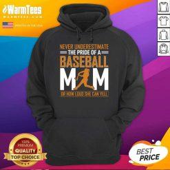 MIM De Baseball Quel Point Elle Peut Crier Fort Tata Hoodie - Design By Warmtees.com
