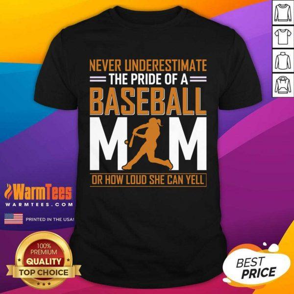 MIM De Baseball Quel Point Elle Peut Crier Fort Tata Shirt - Design By Warmtees.com