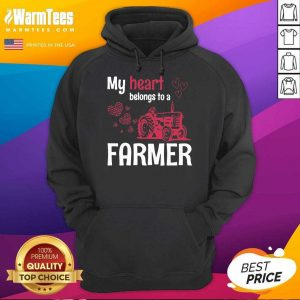 My Heart Belongs To As Farmer Hoodie