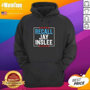 Recall Jay Inslee Stars Election Hoodie - Design By Warmtees.com