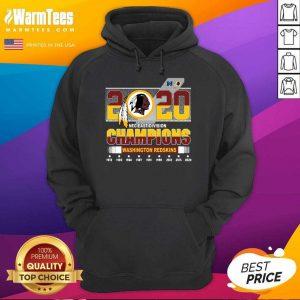 2020 NFC East Division Champions Washington Redskins Hoodie