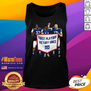 Buffalo Bills First Playoff Victory Since 1995 Tank Top