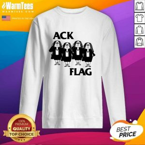 Cathy Ack Flag SweatShirt - Design By Warmtees.com
