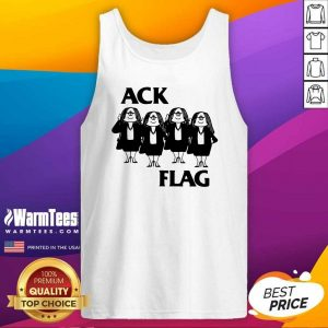 Cathy Ack Flag Tank Top - Design By Warmtees.com