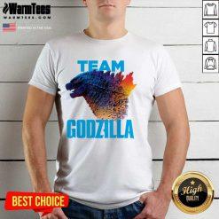 Godzilla Vs Kong 2021 Godzilla Team Shirt