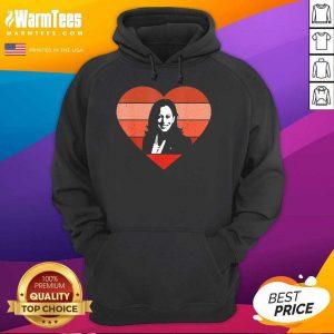 Kamala Harris Inauguration Day 2021 Saint Valentine Heart Hoodie