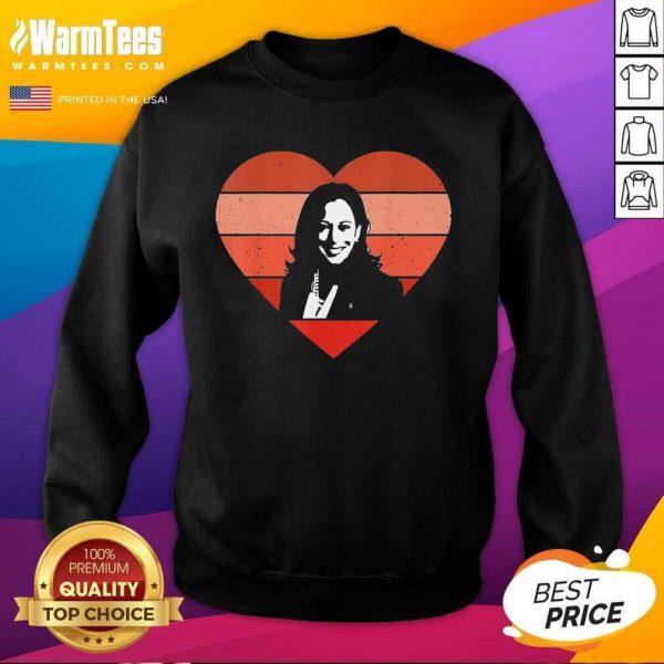 Kamala Harris Inauguration Day 2021 Saint Valentine Heart SweatShirt