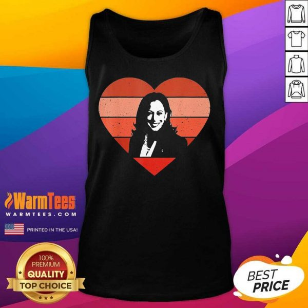Kamala Harris Inauguration Day 2021 Saint Valentine Heart Tank Top