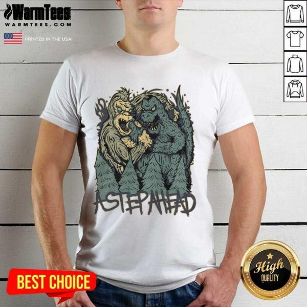 Kong Vs Godzilla Astepahead Shirt