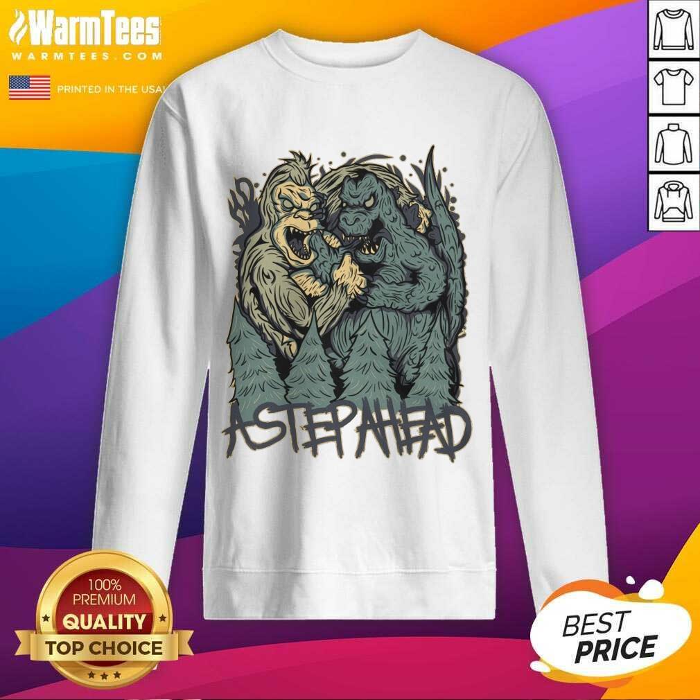 Kong Vs Godzilla Astepahead SweatShirt