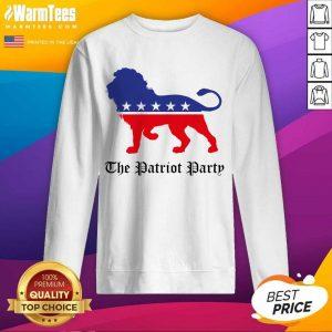 Lions The Patriot Party American SweatShirt