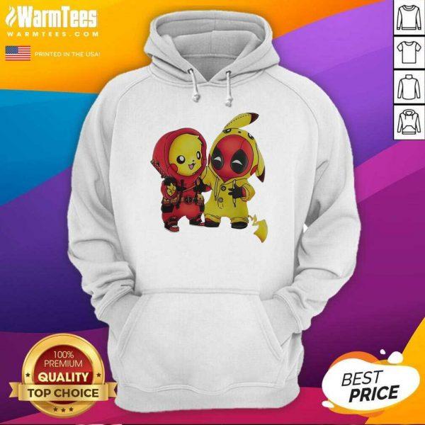 Pikapool Pikachu Pokemon And Deadpool 2021 Hoodie