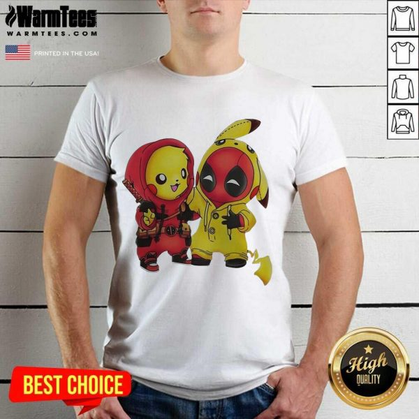 Pikapool Pikachu Pokemon And Deadpool 2021 Shirt