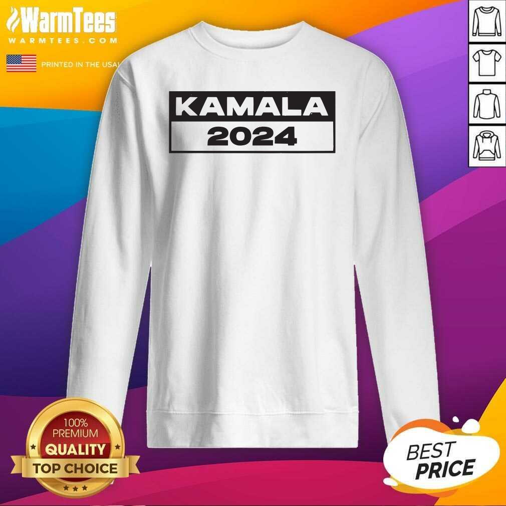 Pro Kamala – I Love Kamala Harris 2024 SweatShirt  - Design By Warmtees.com