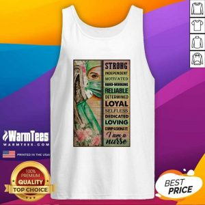 Strong Independent Motivated Hard-working Reliable Determined Tank Top - Design By Warmtees.com