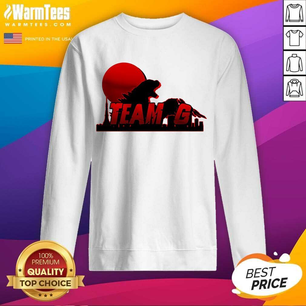 Team G - Godzilla Vs Kong SweatShirt