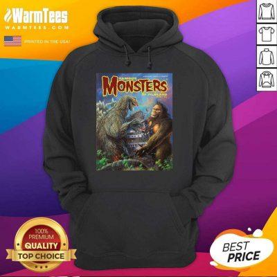 Godzilla Vs King Kong Famous Monsters Of Filmland Hoodie
