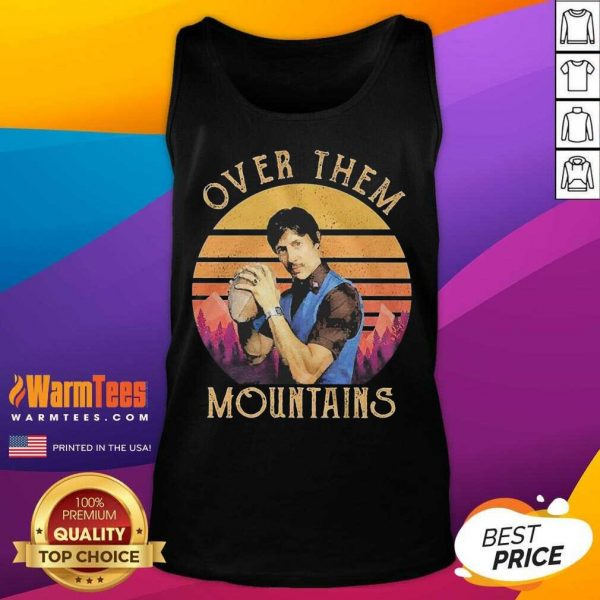 Over Them Mountains Vintage Tank Top
