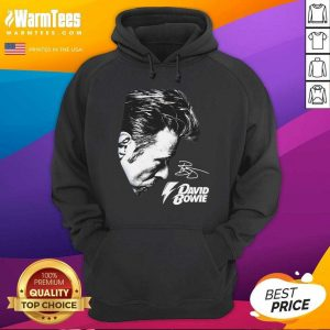 David Bowie 2021 Signature Hoodie - Design By Warmtees.com