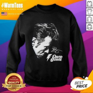 David Bowie 2021 Signature SweatShirt - Design By Warmtees.com