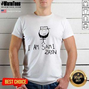 I Am Sami Zayn Shirt - Design By Warmtees.com
