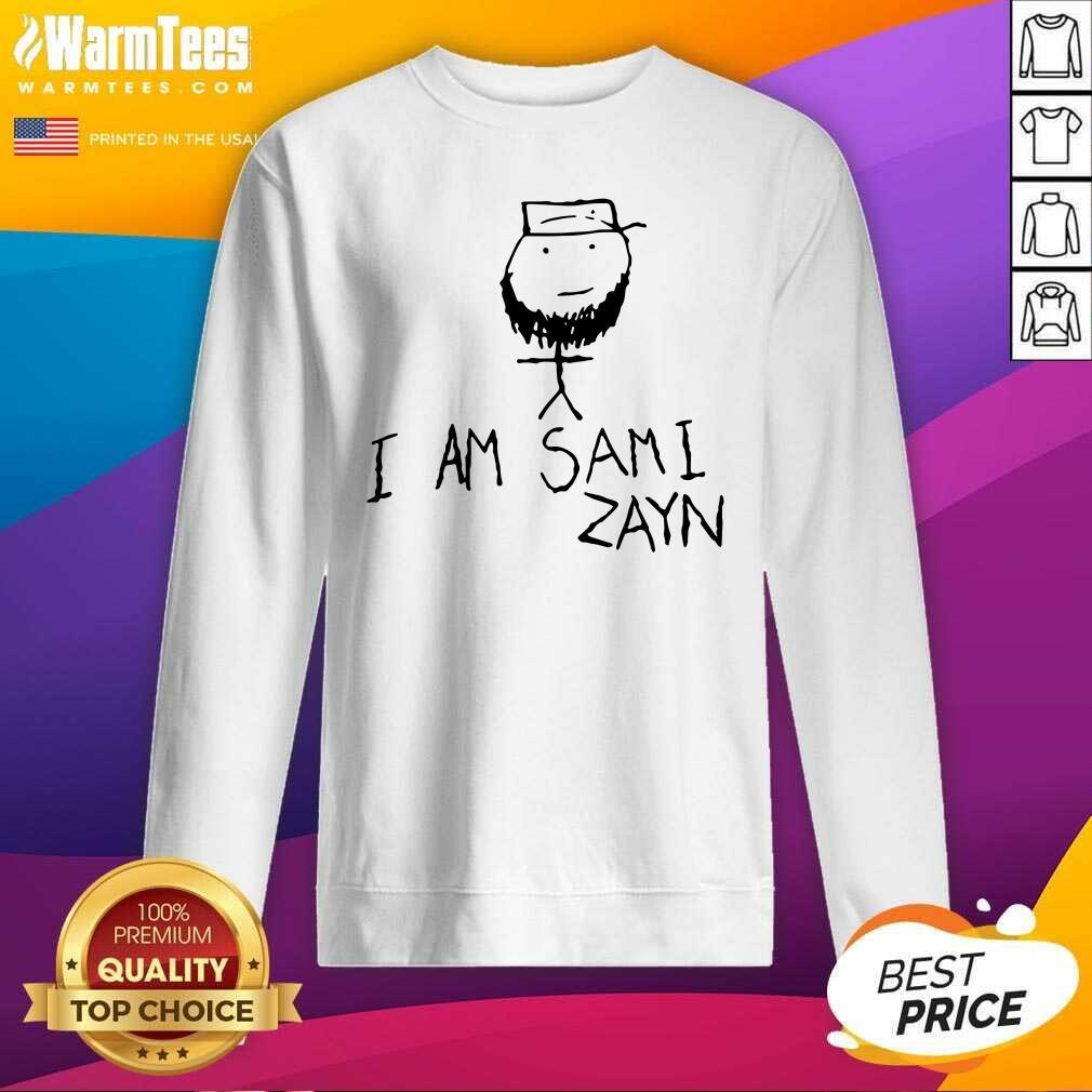 Hot I Am Sami Zayn SweatShirt  - Design By Warmtees.com