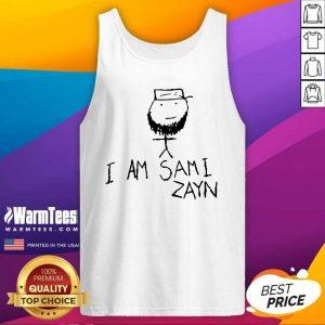 Hot I Am Sami Zayn Tank Top - Design By Warmtees.com