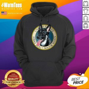 Major Biden First Dog Of The 46th President Hoodie